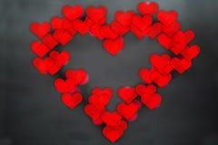 Concept de carte de voeux de jour de valentines Photos libres de droits