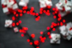 Concept de carte de voeux de jour de valentines Image libre de droits
