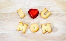 Concept de carte de voeux de jour du ` s de mère Je t'aime maman Texte de Th Images libres de droits