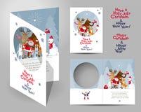 Concept de carte de Noël Photographie stock libre de droits