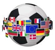 Concept de championnat du football illustration de vecteur