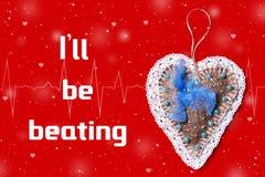 Concept de charité Coeur de Donat Image libre de droits
