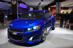 Concept de Chevrolet Aveo RS Images stock