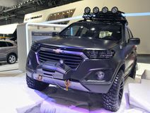 Concept de Chevrolet Niva de voiture Photo stock