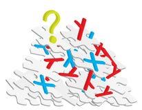 Concept de chromosome illustration stock
