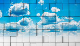 Concept de ciel Photographie stock
