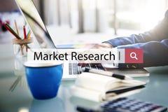 Concept de client des affaires d'analyse de recherche de marché images libres de droits