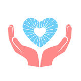 Concept de coeur d'amour Image libre de droits