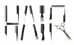 Concept de coiffure Image stock
