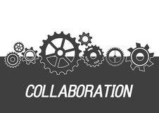 Concept de collaboration Image stock