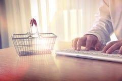 Concept de commerce électronique Images stock