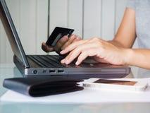 Concept de commerce électronique Photos libres de droits