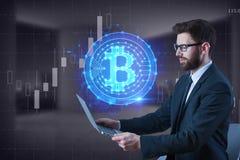 Concept de commerce électronique et de finances Photo libre de droits