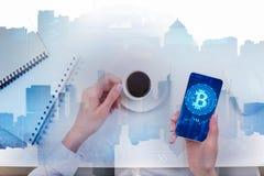Concept de commerce électronique et de finances Images stock