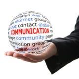 Concept de communication Image libre de droits