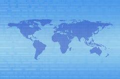 Concept de communication d'Internet de technologie, éléments de cet imag Photos libres de droits