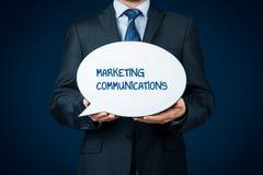 Concept de communications de marché Photographie stock libre de droits