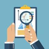 Concept de comptabilité financière Photos libres de droits