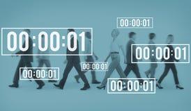 Concept de compte à rebours de durée de gestion de chronomètre de vie photos libres de droits