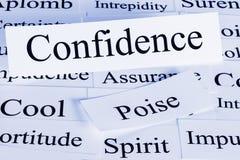 Concept de confiance Photos libres de droits