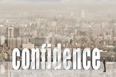Concept de confiance photos stock