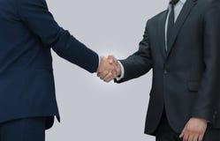 Concept de confiance en associé - affaires de poignée de main Photographie stock libre de droits