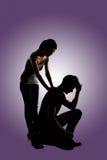 Concept de confort de couples Image libre de droits