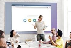 Concept de connexion internet d'optimisation de moteur de recherche Photographie stock libre de droits