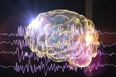 Concept de conscience d'épilepsie illustration libre de droits