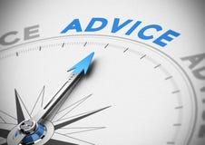 Concept de conseil d'affaires illustration de vecteur
