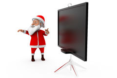 concept de conseil de 3d Santa Photographie stock libre de droits