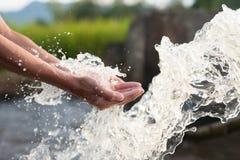 Concept de conservation de l'eau et d'irrigation photographie stock libre de droits