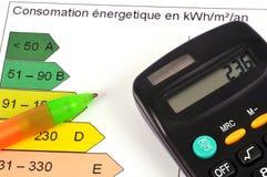 Concept de consommation d'énergie photographie stock libre de droits