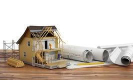 Concept de construction Photo libre de droits