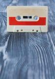 Concept de construction d'affiche de musique avec la rétro cassette sonore image stock