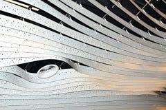 concept de construction de lumière d'art moderne dans l'aéroport de Schiphol en Hollande Photographie stock libre de droits