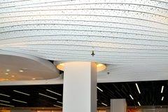 concept de construction de lumière d'art moderne dans l'aéroport de Schiphol en Hollande Photographie stock