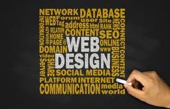 Concept de construction de Web photos libres de droits