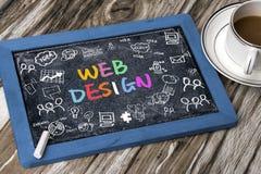 Concept de construction de Web photographie stock libre de droits