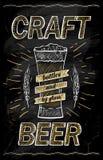 Concept de construction de tableau de bière de métier illustration de vecteur