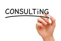 Concept de consultation images stock