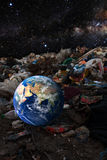 Concept de contamination de l'environnement Photos libres de droits