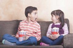 Concept de contrôle parental et de bulletin de renseignements photo stock