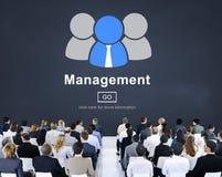 Concept de contrôle de processus de stratégie d'organisation de Managament image libre de droits