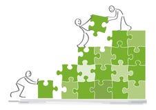 Concept de coopération Photos stock