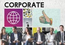 Concept de Corporate Business Organization Company images stock