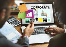 Concept de Corporate Business Organization Company photo libre de droits