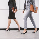 Concept de Corporate Colleagues Talking de femme d'affaires photographie stock