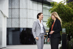 Concept de Corporate Colleagues Talking de femme d'affaires photo libre de droits