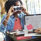 Concept de correspondance de Digital d'ordinateur d'email de photographie photo stock